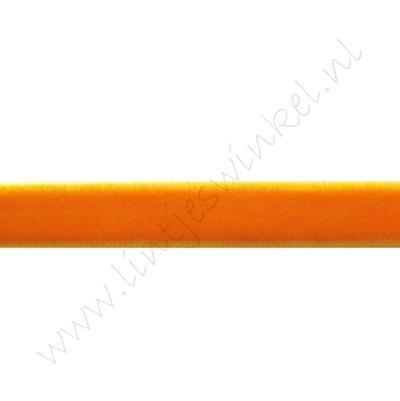 Lint fluweel 10mm - Oranje