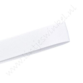 Grosgrain lint 22mm - Wit (029)