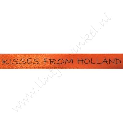 Satijnlint Hollandia 12mm - Kisses from Holland