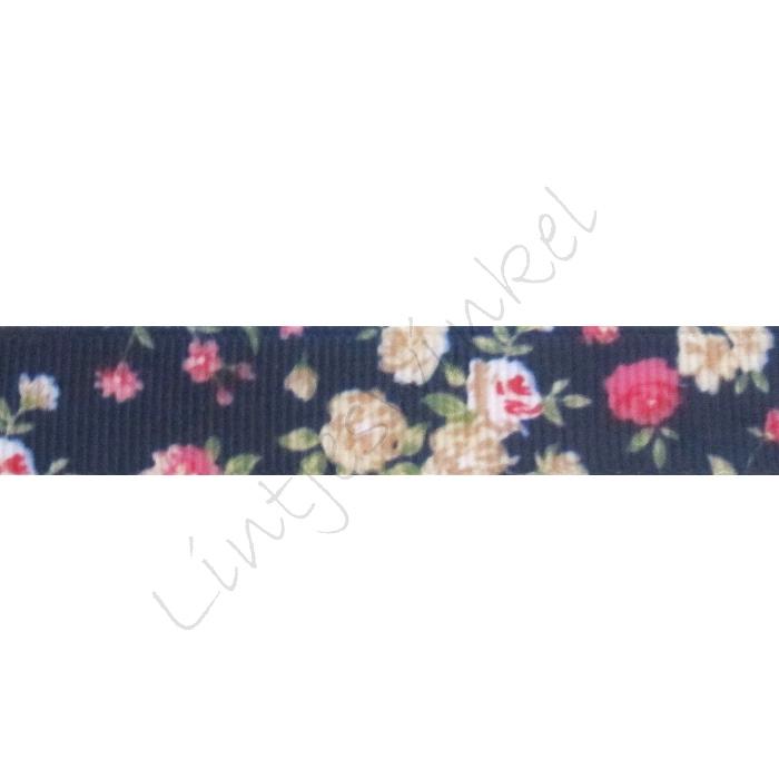 Lint bloemen 16mm - Marine Pink