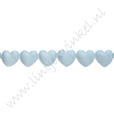 Lint harten 16mm - Applique Licht Blauw