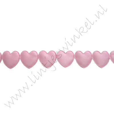 Lint harten 16mm - Applique Roze