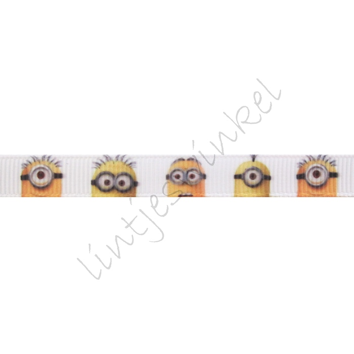Lint Cartoon 10mm - Minions Wit Groot
