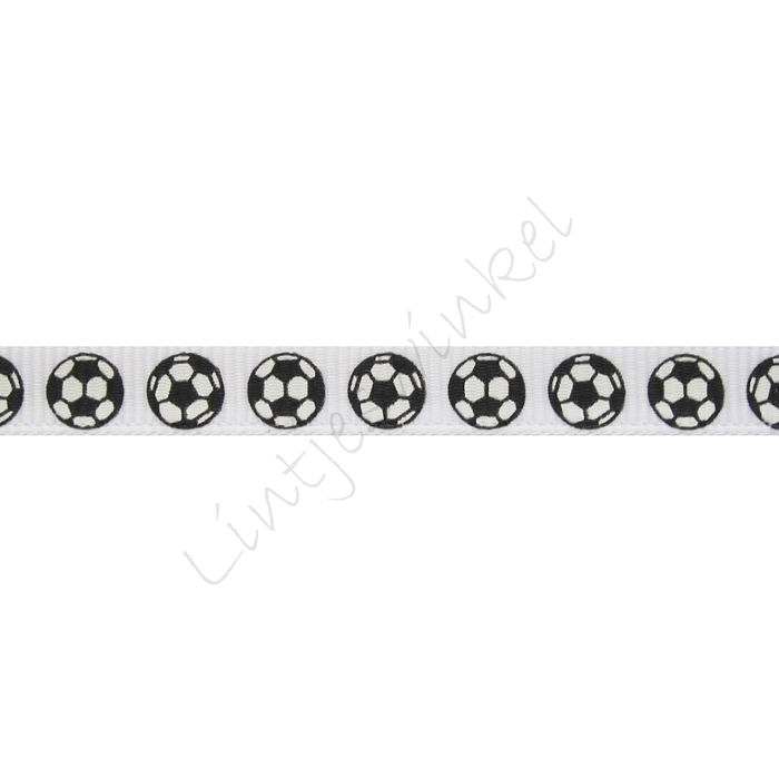Lint sport 10mm - Voetbal Wit