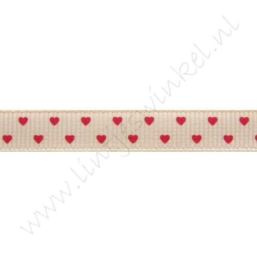 Lint harten 10mm - Mini Zalm Rood