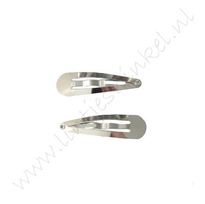 Haarspeldjes Zilver (2 st.) - 40 mm