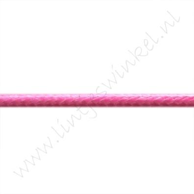 Waxkoord 3mm - Pink