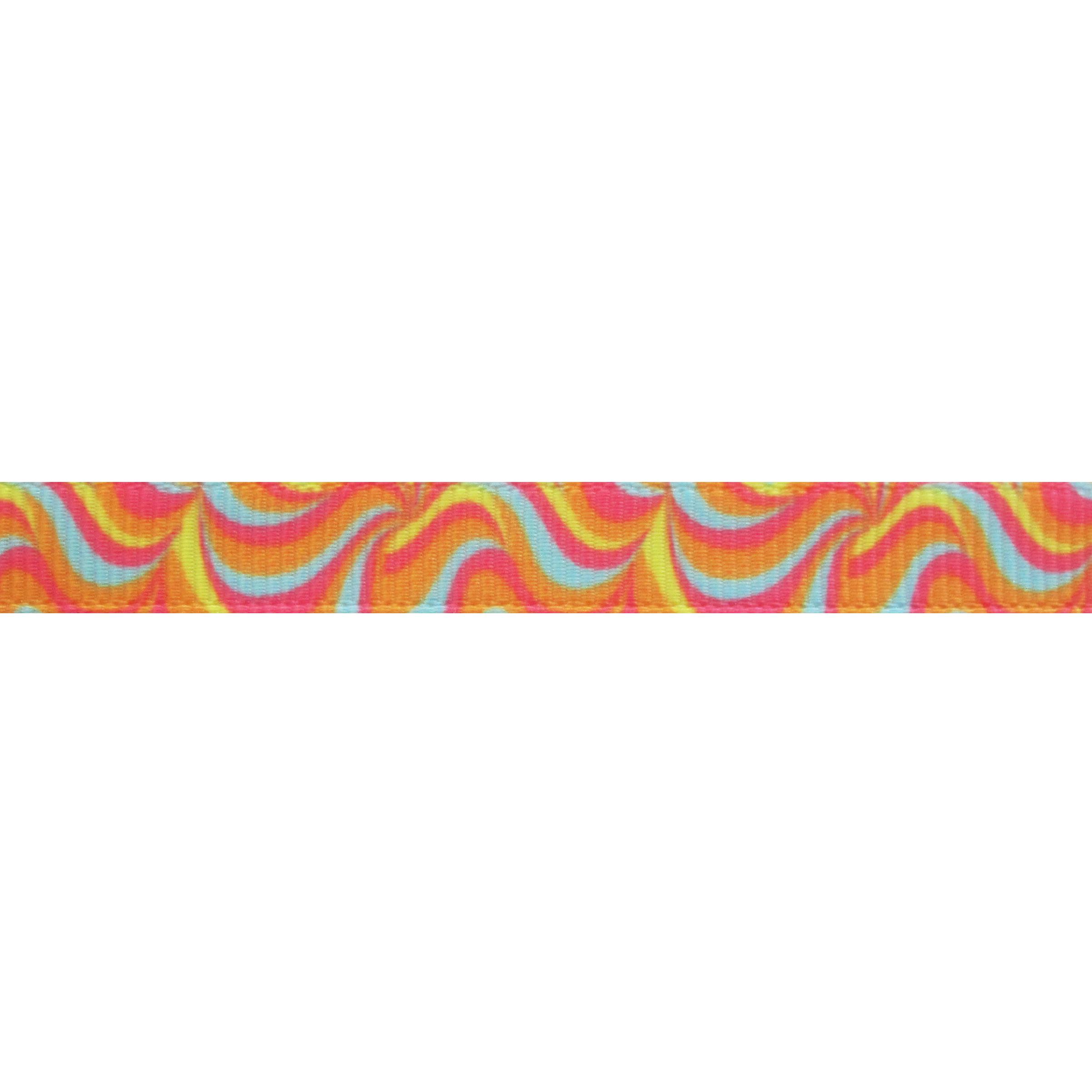Lint met print 10mm - Sweet Hippy Waves