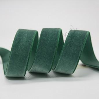 Lint fluweel 6mm - Donker Groen (Forest)