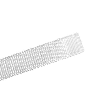 Grosgrain lint 10mm (rol 22 meter) - Glans Wit (#33)
