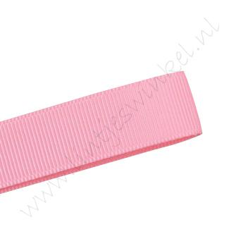 Grosgrain lint 16mm (rol 22 meter) - Roze (150)
