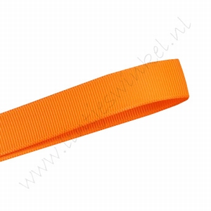 Grosgrain lint 22mm (rol 22 meter) - Oranje (668)