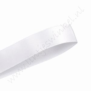 Satijnlint 16mm (rol 91 meter) - Wit (029)
