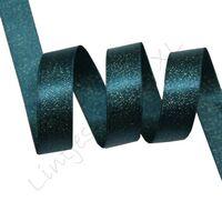 Metallic Satijn 10mm - Blauw Groen Goud (347)