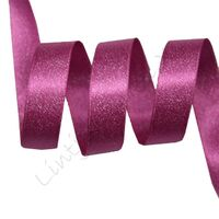 Metallic Satijn 10mm - Fuchsia Zilver (187)