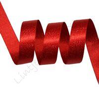 Metallic Satijn 10mm - Rood Zilver (250)