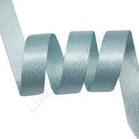 Metallic Satijn 10mm - Oceaan Blauw Zilver (322)