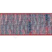 Jute 25mm - Mix Rood Marine