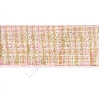 Jute 25mm - Mix Icy Pink