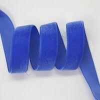 Lint fluweel 6mm - Donker Blauw