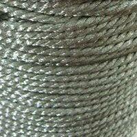 Gedraaid koord 2,5mm - Zilver