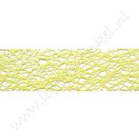 Crispy (net) lint 30mm - Lime Groen