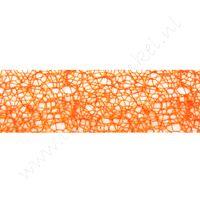 Crispy (net) lint 30mm - Oranje