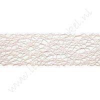 Crispy (net) lint 30mm - Licht Roze