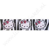 Lint Cartoon 22mm - Hello Kitty Zebra