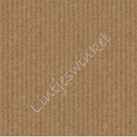 Papieren zakje 17x25 cm - 10 x Craft Bruin Blanco