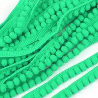 Pompom band 6mm (afmeting bolletje) - Groen