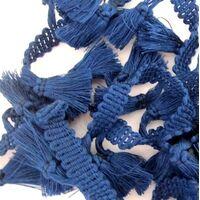 Tasselband 38mm - Donker Blauw Marine