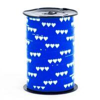 Krullint 10mm - Hartjes Donker Blauw