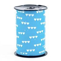 Krullint 10mm - Harten Licht Blauw