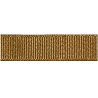 Metallic grosgrain lint 10mm - Golden Brown Glitter