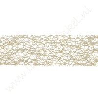 Crispy (net) lint 30mm (rol 10 meter) - Naturel Sand