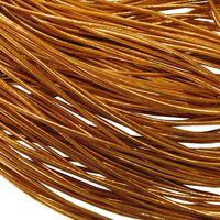 Elastiek Rond 1,5mm - Rood Goud
