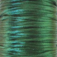 Satijnkoord 2mm - Donker Groen (29)