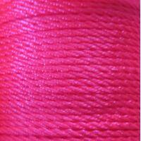 Gedraaid koord 2mm - Shocking Pink (106)