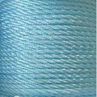 Gedraaid koord 2mm - Licht Blauw (002)