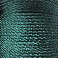 Gedraaid koord 2mm - Groen Blauw (257)