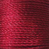 Gedraaid koord 2mm - Bordeaux Rood (192)