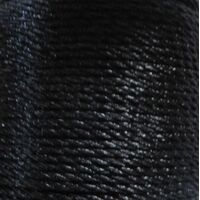 Gedraaid koord 2mm - Zwart (900)