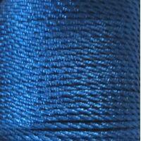 Gedraaid koord 2mm - Pruisisch Blauw (335)