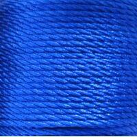 Gedraaid koord 2mm - Donker Blauw (368)