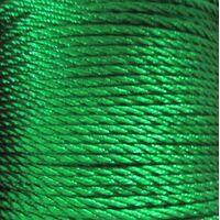 Gedraaid koord 2mm - Groen (233)