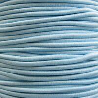 Elastiek Rond 2mm - Licht Blauw