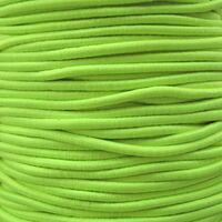 Elastiek Rond 2mm - Lime Groen