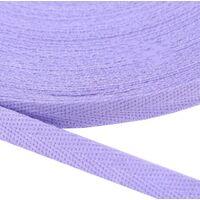 Keperband 10mm (100% katoen) - Lavendel