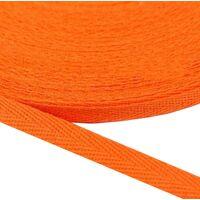 Keperband 10mm (100% katoen) - Oranje
